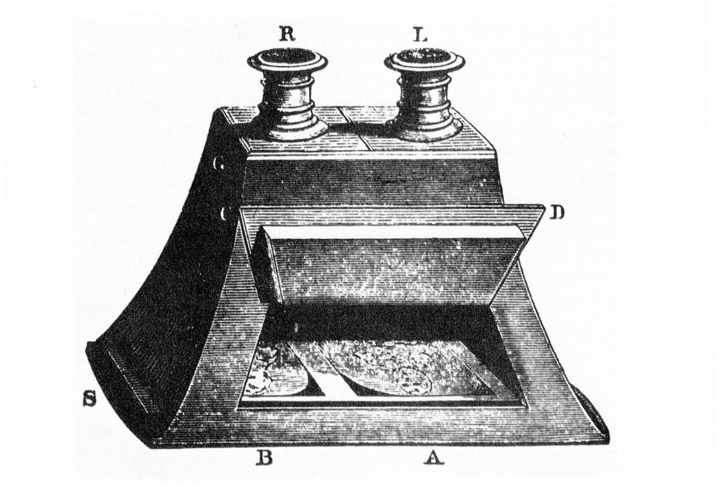 David Brewster, Linsenstereoskop, 1856